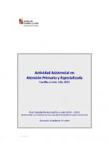 AUTONÓMICA. Actividad Asistencial en Castilla y León. Año 2011 (Indicadores de actividad obstétrica en Atención Especializada)