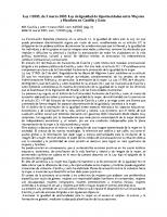 AUTONÓMICA. Ley 1-2003, de 3 marzo 2003. Ley de igualdad de Oportunidades entre Mujeres y hombres en Castilla y León.