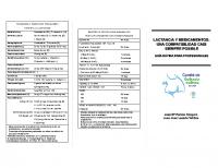 Comité de Lactancia Materna de la AEP. Lactancia y medicamentos, guía rápida para profesionales