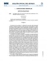 ESTATAL. Ley Orgánica 2-2010, de 3 de marzo, de slud sexual y reporductiva y de la interrupción voluntaria del embarazo
