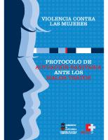 Gobierno de Cantabria. Protocolo de actuación sanitaria ante los malos tratos. 2004