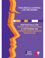 Gobierno de Cantabria. Protocolo de atención sanitaria a víctimas de agresiones-abusos sexuales. 2007