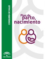 Junta de Andalucía. Consejería de Salud. Plan de parto y nacimiento. 2009