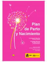 Ministerio de Sanidad, Política Social e Igualdad. Plan de parto y nacimiento. 2011