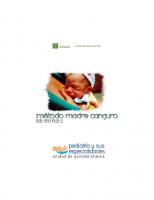 Servicio Andaluz de Salud. Hospital Universitario Reína Sofía. Método Madre Canguro. Guía para padres