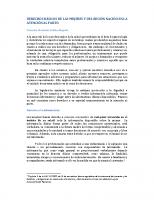DERECHOS BÁSICOS DE LAS MUJERES Y DEL RECIÓN NACIDO EN LA ATENCIÓN AL PARTO