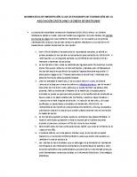 NORMATIVA INSCRIPCION ACTIVIDADES FORMACION ASOCIACION